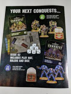 Warhammer Conquest Magazine Review Warhammer Conquest, Magazine, Magazines, Warehouse, Newspaper