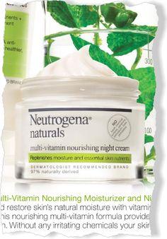 Neutrogena Naturals Multi-Vitamin Nourishing Night Cream