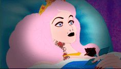 Always knew there was something inherently creepy in a woman forced into a cursed sleep.   18 Horrific Altered Disney GIFs That Will Give You Nightmares