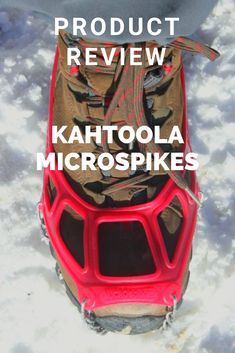 A review of Kahtoola Microspikes. These are essential for winter hiking. Hiking Gear, Hiking Backpack, Camping Gear, Backpacking, Winter Hiking, Winter Travel, Adventure Gear, The Great Outdoors, Trekking