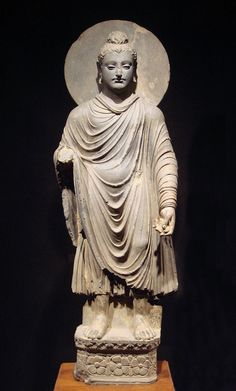Gandhara Buddha (tnm) - Greco-Buddhism - Wikipedia, the free encyclopedia