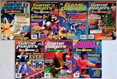 Game Players magazine  #retrogaming #HotSS  7 Issues from the 16 and 32-bit era. Great price no bid atm. From the US.