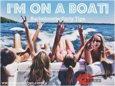 Guest Post: I'm on a Boat! - Bachelorette Party Tips   http://www.snapginger.com/blog/guest-post-im-on-a-boat-bachelorette-party-tips