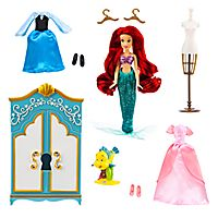 Ariel Wardrobe Doll Play Set
