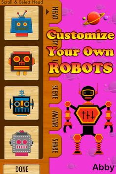 Robot Maker- free app!
