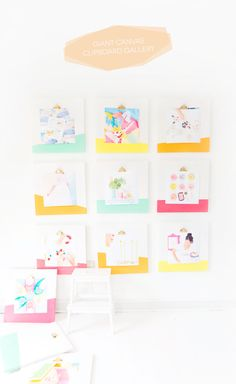 Make a huge statement with these DIY Canvas Clipboards. Perfect for displaying your favorite Instagram photos.