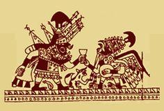 """SOCIEDAD """"La sociedad Mochica se establecía en jerarquías muy marcadas esto quedó reflejado en su muy abundante producción de cerámicas o """"huacos"""". La pirámide de esta sociedad teocrática estaba encabezada por los Señores, con poderes terrenales y religiosos. Los sacerdotes conformaban mujeres sacerdotisas. El tercer estrato era el del pueblo, que realizaba los trabajos de campo y los oficios"""""""