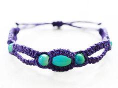 Hey, I found this really awesome Etsy listing at http://www.etsy.com/listing/158922196/royal-purple-haze-hemp-bracelet-hemp