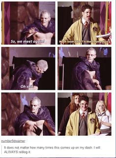 This is definitely my favorite moment (aside from Joe Walker taking his shirt off) from AVPSY