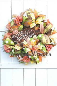Welcome to the June 2019 showcase of beautiful wreaths and centerpieces! These stunning creations were made by designers in the Trendy Tree Marketing Thanksgiving Wreaths, Autumn Wreaths, Christmas Wreaths, Spring Wreaths, Deco Mesh Wreaths, Door Wreaths, Ribbon Wreaths, Mesh Ribbon, Georgia Wreaths