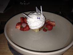 Dessert at Het Perceel