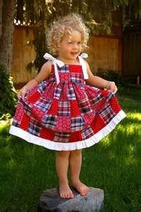 4th of July dress.