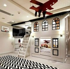 40 Stylish Kids' Bedroom - Page 8 of 44 - coloredbikinis. Bed For Girls Room, Cool Kids Bedrooms, Kids Bedroom Designs, Room Design Bedroom, Kids Room Design, Room Ideas Bedroom, Home Room Design, Awesome Bedrooms, Cool Rooms