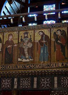 The Hanging Church, Coptic Cairo..
