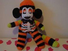 Halloween Mr. Bone-Jangles Sock Monkeys!!! - TOYS, DOLLS AND PLAYTHINGS