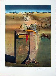 """Salvador Dalí: """"España II"""" 115/199 - Subasta Real"""