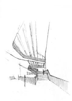 Daniel Mowery // Stair as Movement   MAXXI Museum, Zaha Hadid, Rome, 2009