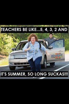 Teacher summer humor