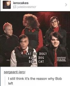 My Chemical Romance interview XD