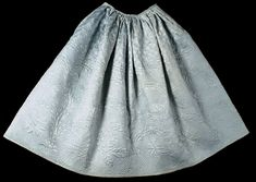 Philadelphia Museum of Art - Collections Object : Woman's Quilted Petticoat