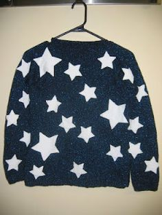 Coraline Sweater Sew On Felt Stars Glow In The Dark Perhaps Coraline Coraline Jones Cozy Fashion