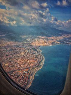 📍Türkiye | İzmir uçaktan çektiğim r görüntü 7500-8000 m 👌