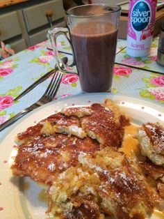 Griddle waffles with epic hot chocolate over on Mrs Bishop's Bakes and Banter blog…The recipe is pretty far down, but it is a great way to utilize your #blackstonegriddle first thing in the morning