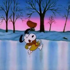 Careful, Snoopy!