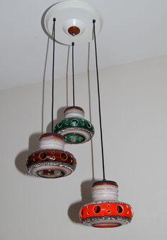 Herda space age seventees ceramic lamp