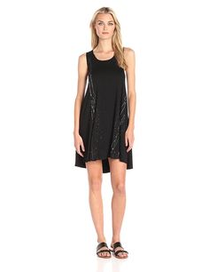 Karen Kane Women's Paint Splatter Trapeze Dress *** Hurry! Check out this great product : cocktail dresses