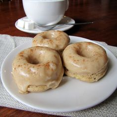 Baked Banana Donuts with Brown Butter GlazeI am not ashamed to admit it, I like my donuts better when they are fried. This fact, unfortunately, is partially responsible for the current state of my …