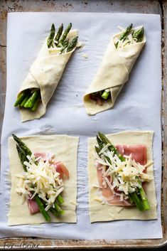 These Prosciutto Asparagus Puff Pastry Bundles are an easy and elegant appetiz. These Prosciutto Asparagus Puff Pastry Bundles are an easy and elegant appetizer or brunch idea! Perfect for Easter, Mother's Day or any other spring brunch! Brunch Recipes, Appetizer Recipes, Easter Recipes, Recipes Dinner, Dinner Menu, Thanksgiving Recipes, Dinner Dessert, Dinner Entrees, Appetizer Ideas