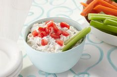Cool & Creamy Vegetable Dip:  Picnic or Party