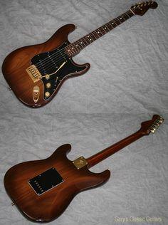 1983 Fender® The Walnut Strat®  (#FEE0676) Walnut, Excellent, Hard, $3,295.00 (via Gbase.com)