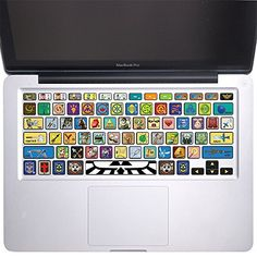 "The Legend of Zelda - Keyboard Stickers Vinyl Decal MacBook Pro 13"", 15"" and MacBook Air 11"", 13"" KB-022 Ammorn http://www.amazon.com/dp/B018SVUC2S/ref=cm_sw_r_pi_dp_J7rOwb0GDNAX3"
