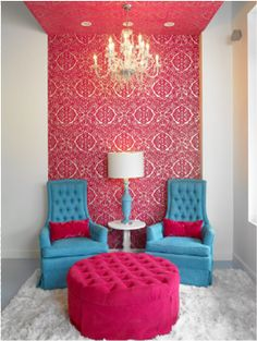 Fabulous and Fru Fru: Juicy Couture Inspired Room