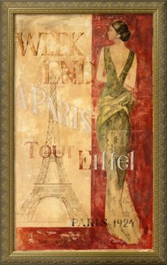Title: Paris, 1924  Artist: Fabrice De Villeneuve