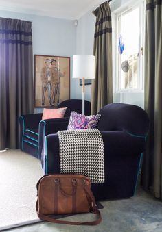 House Tour: A Colorful & Quirky Basement Apartment | Apartment Therapy
