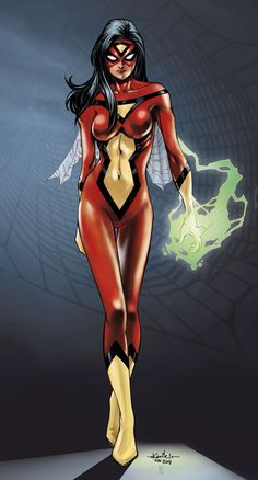 Spider-Woman (SYR colors) - by SpiderGuile