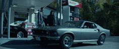 Ford Mustang (1969) car driven by Keanu Reeves in JOHN WICK (2014) #Ford