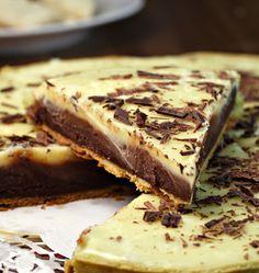 Tarte à la pistache et aux trois chocolats - Recettes de cuisine Ôdélices