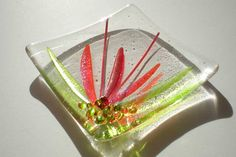 Fused Glass Art Plate