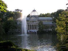 Palacio de Cristal de Madrid #madrid #spain