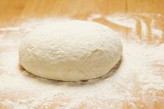 Homemade Pizza Dough recipe!  Easy and I'd bet this is delicious!