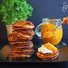 Herkkusalaatti kesäkurpitsasta / Tinskun keittiössä ja Tyynen kaa Muffin, Breakfast, Food, Morning Coffee, Essen, Muffins, Meals, Cupcakes, Yemek