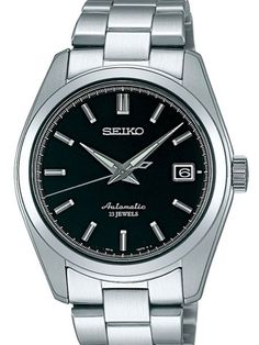The Seiko SARB033 is powered by the premium Seiko 6R15 caliber self-winding movement that can also be hand wound and hacked. It features luminous hands, date display, a stainless steel bracelet, a 50 hour power reserve, and an exhibition window back.