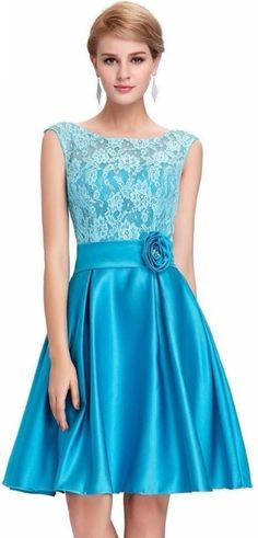 e28429a17e2712 Xomantic Fashion Womens Fit and Flare Blue Dress - Buy FIROZI Xomantic  Fashion Womens Fit and