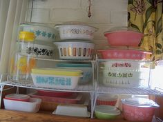 My Vintage Pyrex and Fire King Collection.