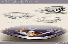 Mercedes-Benz Silver-Fin on Behance