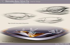 Mercedes-Benz Silver-Fin on Behance